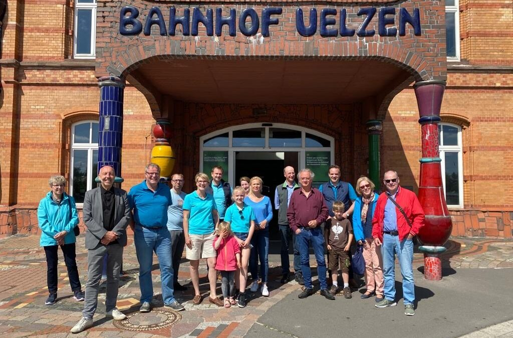 Sommertour per Fahrrad – Teil 2: Bahnhof, Wald und Feld