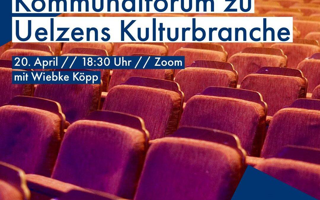 Kommunalforum zu Uelzens Kulturbranche